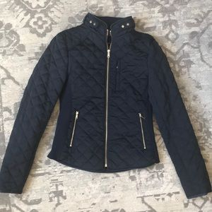Zara Woman Quilted Coat